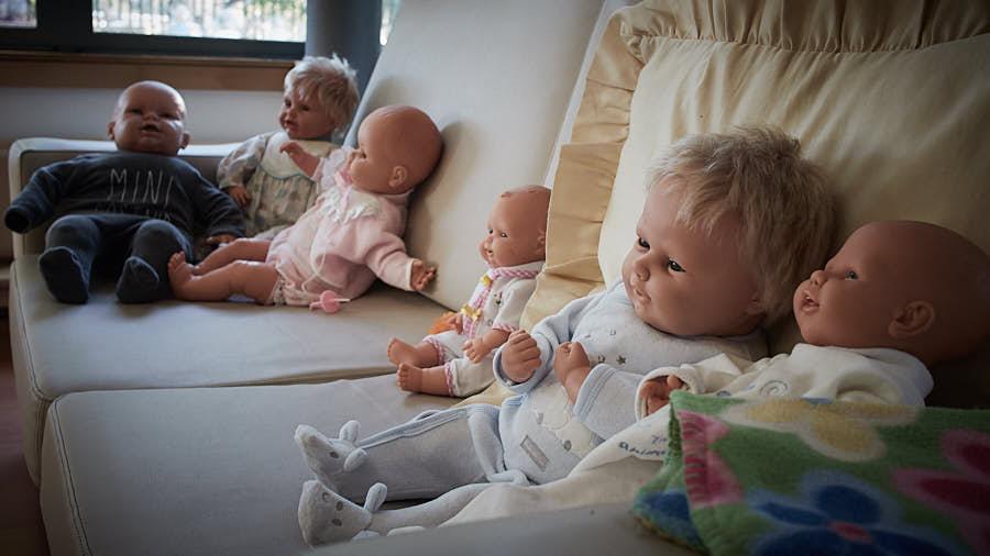 Muñecos. Artículo El País